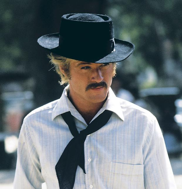 A star is born: Redford's role in Butch Cassidy and the Sundance Kid made him a household name. Picture: Shutterstock