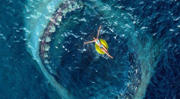 Snack attack: The Meg features some impressive CGI