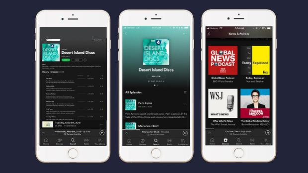 Bbc Podcasts Are Now Available On Spotify In The Uk Independent Ie
