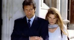 Imran Khan and Jemima Goldsmith married in 2005, divorced in 2004 but have since remained close