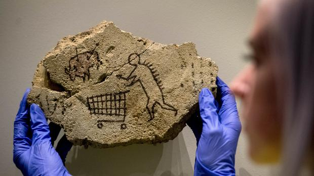 Banksy's Peckham Rock going back on display at the British Museum (Victoria Jones/PA)