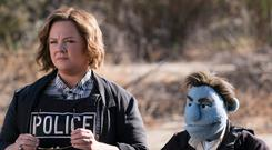 Porn to be wild: Melissa McCarthy is wasted in her role next to Detective Phil Philips