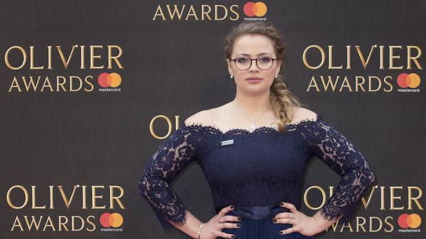 Carrie Hope Fletcher has said her casting was criticised on the internet (Isabel Infantes/PA)
