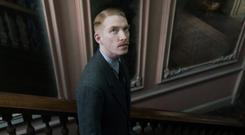 Novel approach: Gleeson as prim medic Faraday in The Little Stranger, which is based on the Sarah Waters' novel