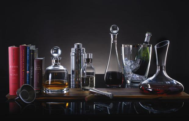 Waterford Crystal's elegance collection: hand-made crystal with fine lines