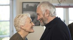 Close encounters: Glenn Close is superb as the long-suffering wife of novelist Joe Castleman (Jonathan Pryce)