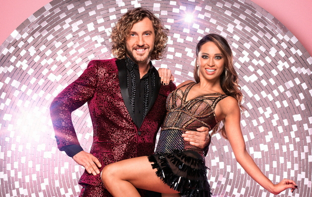Seann Walsh and dance partner Katya Jones. Photo: PA
