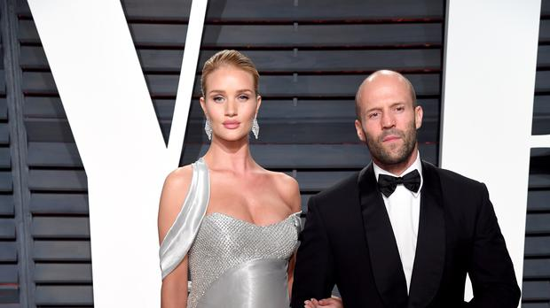 Rosie Huntington-Whiteley said marriage isn't a huge priority for her and Jason Statham (PA)