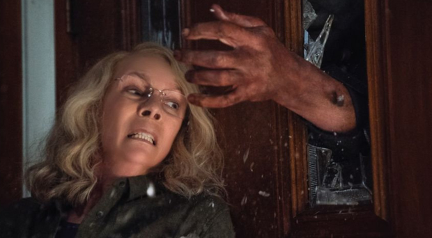 Jamie Lee Curtis comes face to face with Michael Myers 40 years on from the original