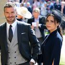 David and Victoria Beckham were among the celebrity guests at the Duke and Duchess of Sussex's wedding (Ian West/PA)
