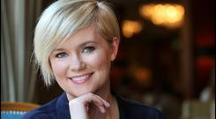 A lively imagination: Cecelia Ahern. Photo by Steve Humphreys