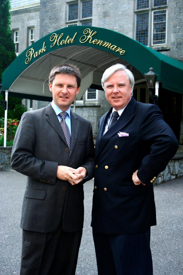 Francis Brennan and his brother John at the Park Hotel in Kenmare