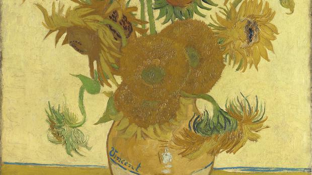 Vincent van Gogh's Sunflowers, 1888 (The National Gallery)