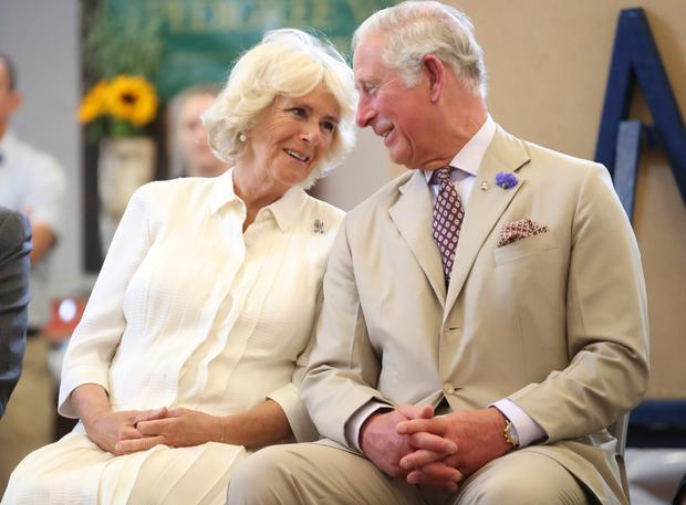 Charles and Camilla pictured together during the summer of 2018