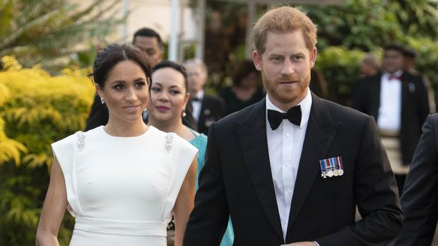 The Duke and Duchess of Sussex will be guests at the Royal Variety Performance (Paul Edwards/The Sun/PA)