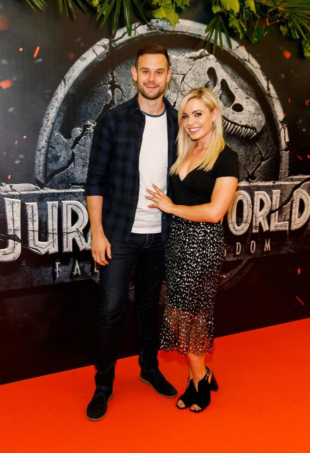 Anna Geary with fiance Kevin Sexton