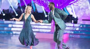 Star quality: Evanna Lynch and Keo Motsepe on hit US television show 'Dancing With The Stars'. photos: ABC