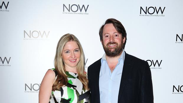 David Mitchell and Victoria Coren Mitchell (PA)