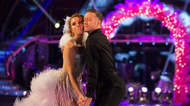 Stacey Dooley will trade Kevin Clifton for Aljaz Skorjanec on the Strictly live tour (Guy Levy/BBC)