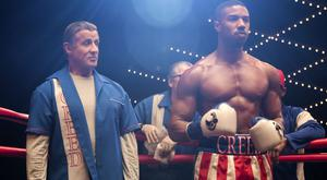 Ringside: Sylvester Stallone and Michael B Jordan reprise their roles in Creed 2
