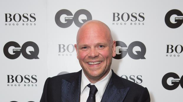 Tom Kerridge after winning the Chef award at the GQ Men of the Year Awards at the Royal Opera House, London. (Daniel Leal-Olivas/PA)