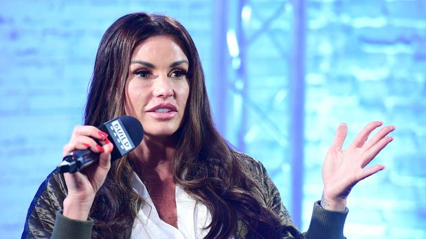 A High Court hearing over Katie Price's finances has been adjourned until October (Ian West/PA)