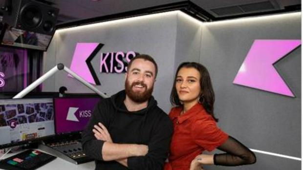 Tom Green and Daisy Maskell will launch the programme on January 2 (KISS)