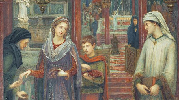 The First Meeting Of Petrarch And Laura, as the National Portrait Gallery is to explore untold stories of Pre-Raphaelite women (National Portrait Gallery/PA)