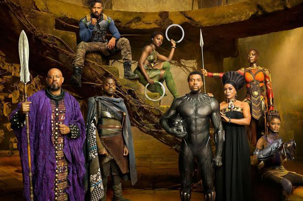 Black Panther may be the first mega­-budget movie to have an African American director and a predominantly black cast