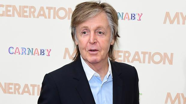 Sir Paul McCartney, Rachel Riley and other stars are sharing Christmas messages (Ian West/PA)