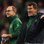 Martin O'Neill and Roy Keane. Photo: SPORTSFILE