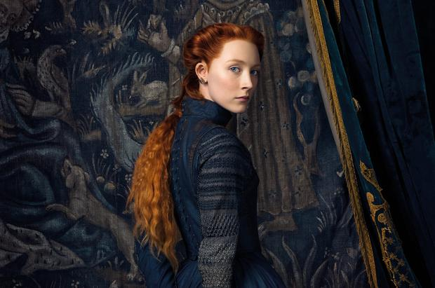 Stretching the truth: Saoirse Ronan in the lead role for Mary Queen of Scots, which has been criticised for not sticking to historical facts