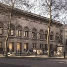 National Portrait Gallery forecourt proposal (Jamie Fobert Architects/Forbes Massie)