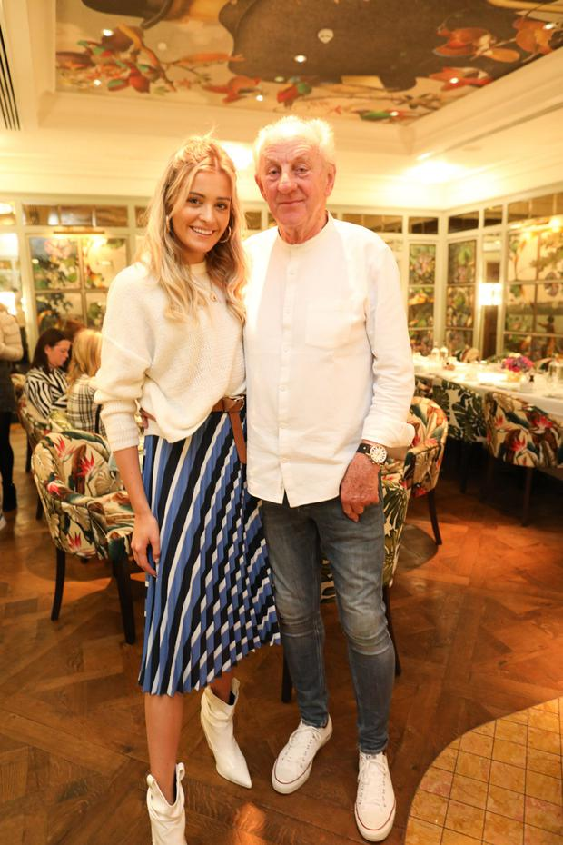 Louise Cooney with Paul Costelloe. Photo: Julien Behal