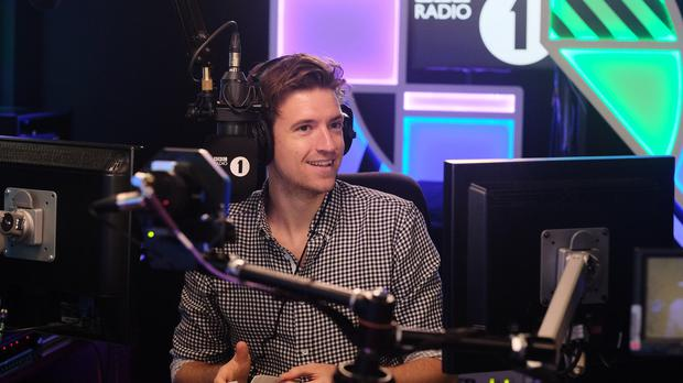 Greg James has been tasked with escaping a locked room (Mark Allan/PA)