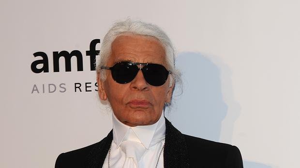 cbe265fb76ca Fendi ends fashion show with tribute to Karl Lagerfeld - Independent.ie
