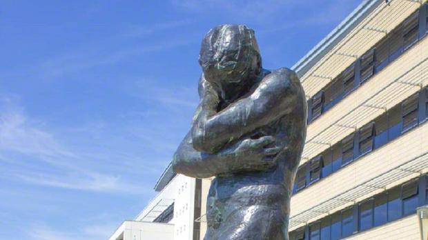 The Harlow-based Rodin statue is among the first to feature in major new UK database (Tracy Jenkins/Art UK/PA)