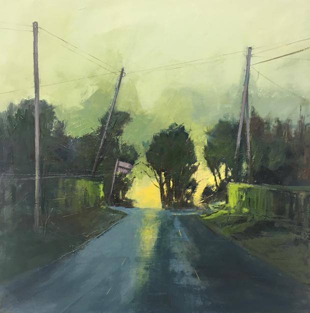 Light at the Top of the Hill by Kate Beagan