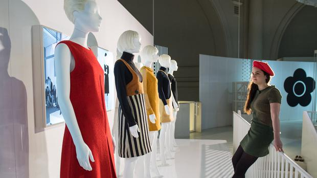 Dame Mary Quant's work has been praised for creating a 'movement of liberation' for working women (Dominic Lipinski/PA)