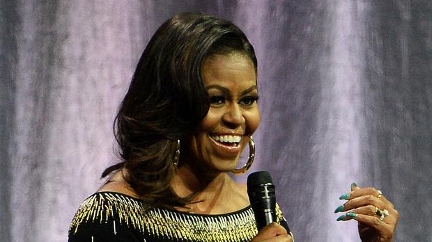 Michelle Obama recalled her meetings with the Queen (Kirsty O'Connor/PA)