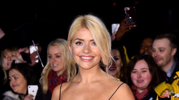 Holly Willoughby wore a straw bonnet (Matt Crossick/PA)