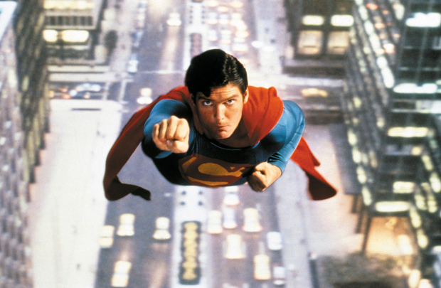 Super star: the makers of Superman considered Dustin Hoffman and Paul Newman before casting Christopher Reeve