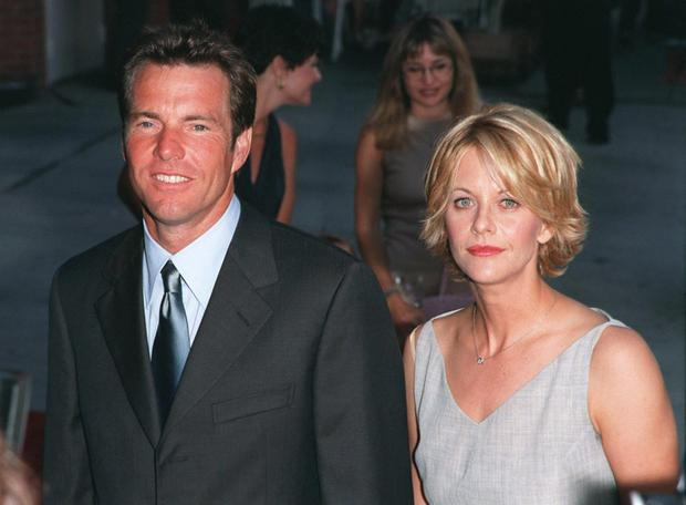 Hollywood power couple: Dennis Quaid and second wife Meg Ryan
