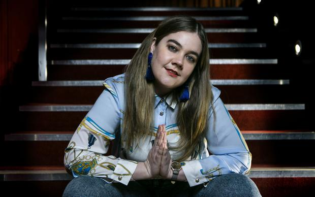 Playwright Grace Dyas became a poster girl for the Irish version of the MeToo movement. Photo: Kyran O'Brien