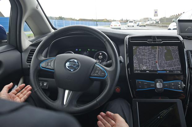 True autonomy is called Level 5 ability – where cars drive without any human input. Photo: PA