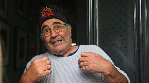 Danny Baker at his London home after being fired by the BBC (Victoria Jones/PA)