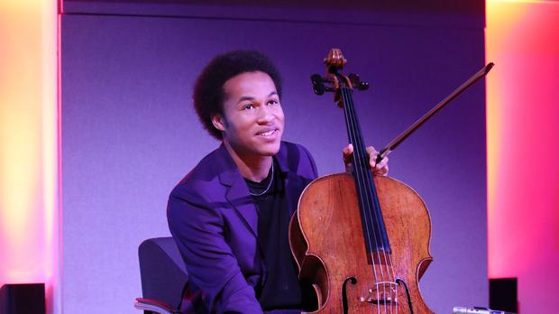 British cellist Sheku Kanneh-Mason who played at the wedding of the Duke and Duchess of Sussex (Yui Mok/PA)