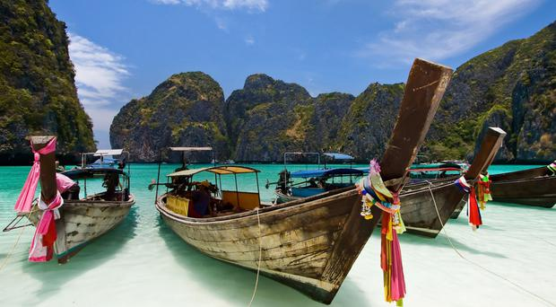 Take a boat trip out to some of the stunning 44 islands which make up the Mu Ko Ang Thong National Park and take in a bit of snorkelling, swimming or just laze on the white sands