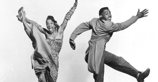 QUICK-FOOTED: Norma Miller with one of the Norma Miller Dancers, Billy Ricker