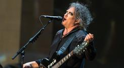 Robert Smith and The Cure played Malahide Castle on Saturday night